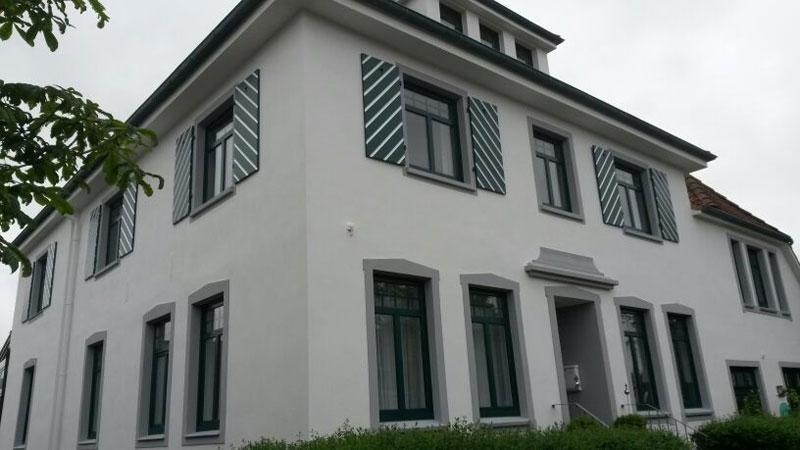 Fassade vorher nachher  Ihr Partner für die Fassadensanierung